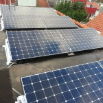 8 panelen 330 Wp Delft met power optimizer per paneel